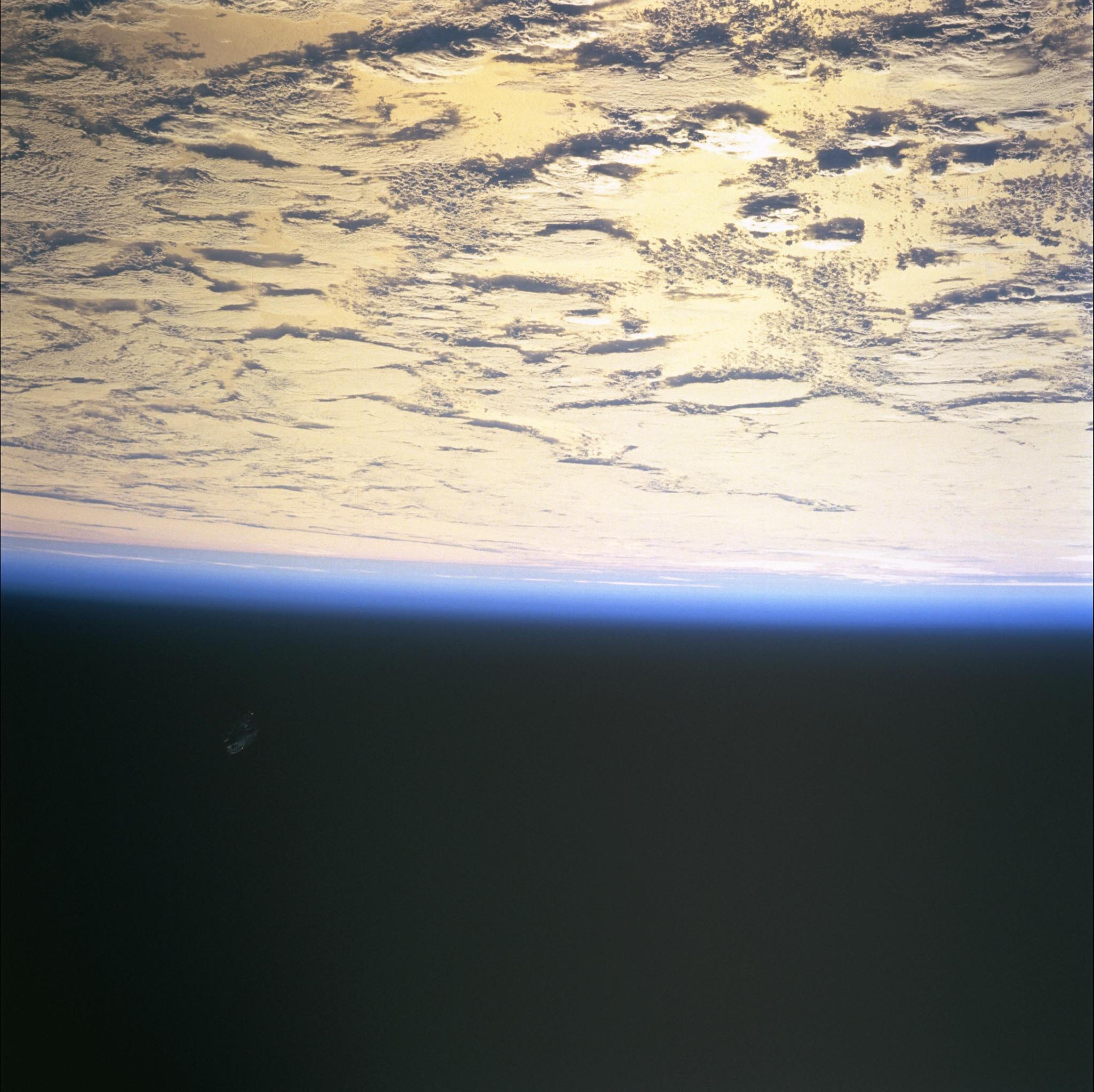 black knight satellite NASA STS088-724-65 pictures