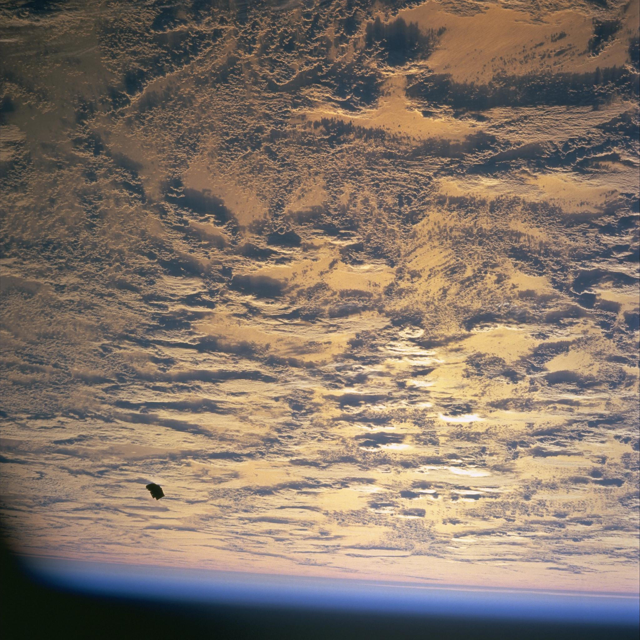 black knight satellite NASA pictures