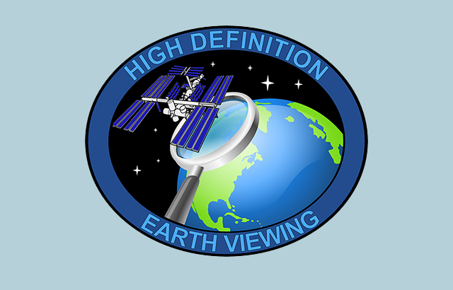 High Definition Earth-Viewing System logo